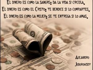 @alejodorowsky: Canto al dinero