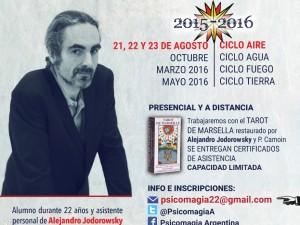 Próximas actividades de Christophe Richart Carrozza en Argentina