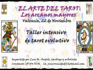 Taller: EL ARTE DEL TAROT. LOS ARCANOS MAYORES