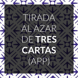 Tirada al azar de tres cartas - App -