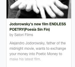Manual para facilitarles su participación en el @kickstarter POESIA SIN FIN