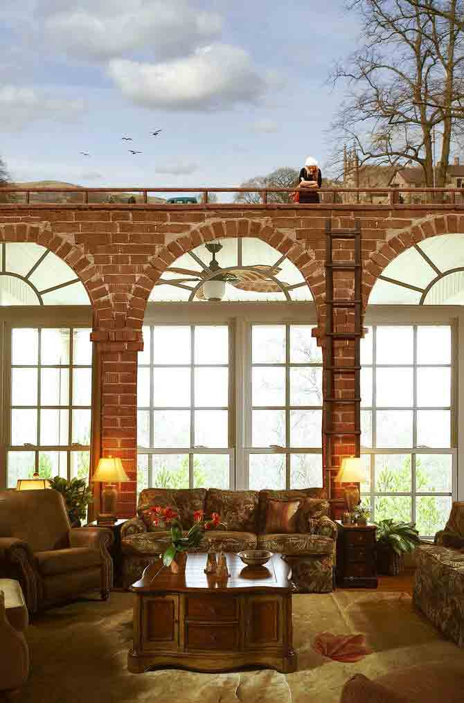 La casa de los mil espejos plano sin fin - La casa de los espejos ...