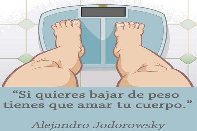 Pensamiento positivo para bajar de peso