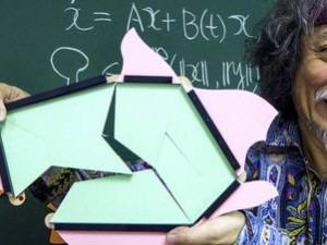 ¿Sabe cuál es el problema del profesor de matemáticas?