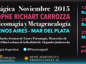 CHRISTOPHE RICHART CARROZZA EN ARGENTINA