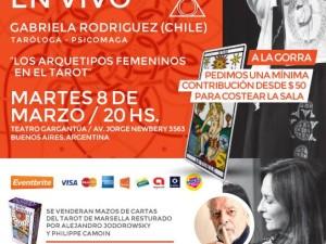 Lecturas de Tarot evolutivo. Gabriela Rodríguez en Argentina.