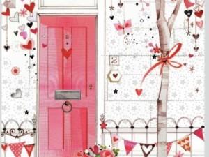 Abre tu puerta a la fiesta del amor.