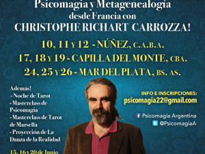 GIRA PSICOMÁGICA CHRISTOPHE RICHART CARROZZA, ARGENTINA 2016