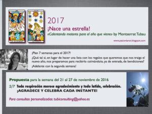 «Calentando motores para el año que viene» by Montserrat Tubau (Semana 2/7)