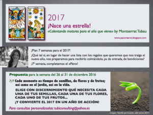 «Calentando motores para el año que viene» by Montserrat Tubau (Semana 7/7