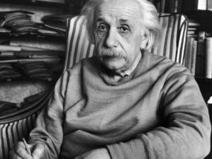 Palabras de Einstein para consolar a un padre que había perdido a su hijo