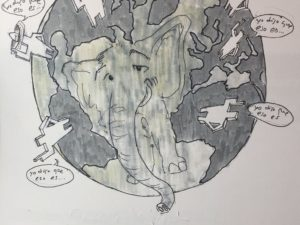 El cuento del elefante en la oscuridad