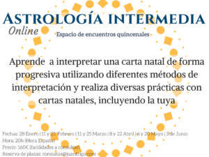 Curso Online Astrología Intermedia (Juan Trigo)