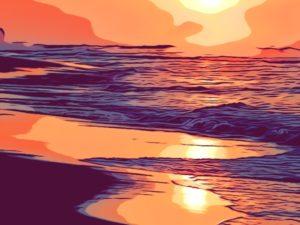Leyenda: La playa del perdón