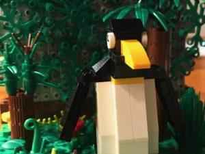 Un pingüino en la jungla.  Entrevista con un escritor oculto.